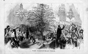 Godey's Christmas Tree, December 1855