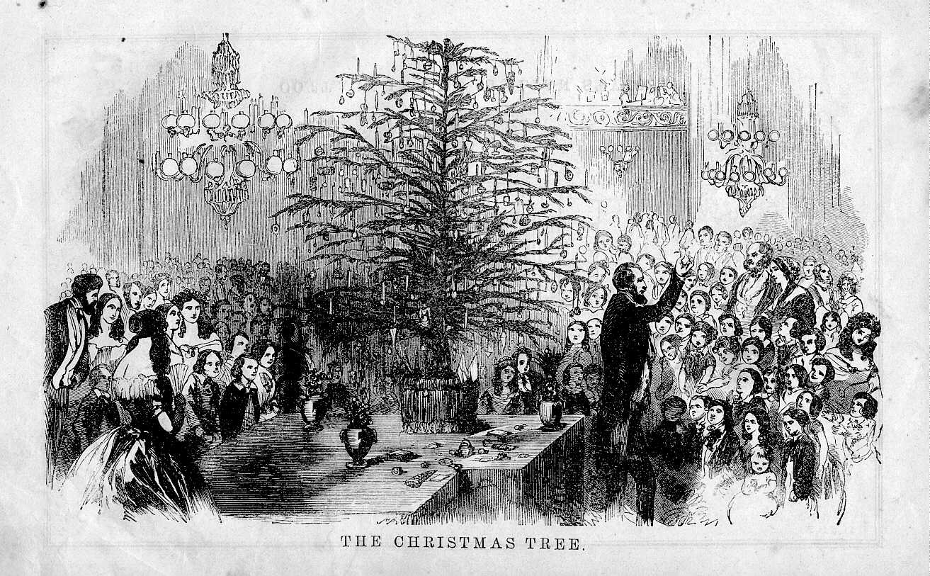 us slave short history of christmas tree - Origin Of Christmas Tree