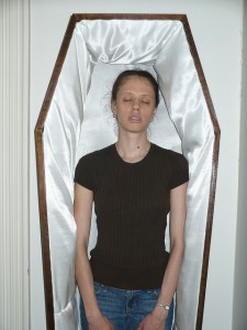 Eva in a Coffin