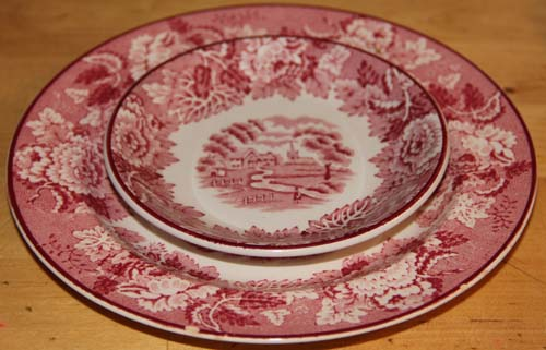 Enoch Wood Plates
