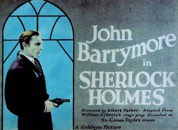 Sherlock Holmes Lobby Card