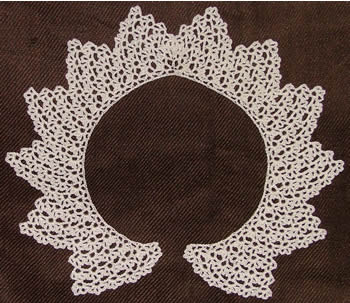 HOW TO - Crochet Collar @Craftzine.com blog