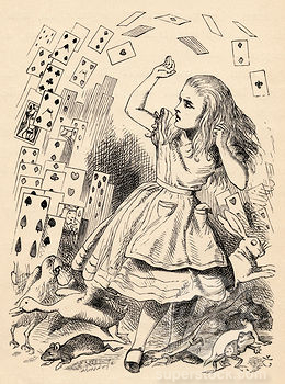 Alice by Tenniel