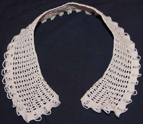 Grecian Pattern Collar