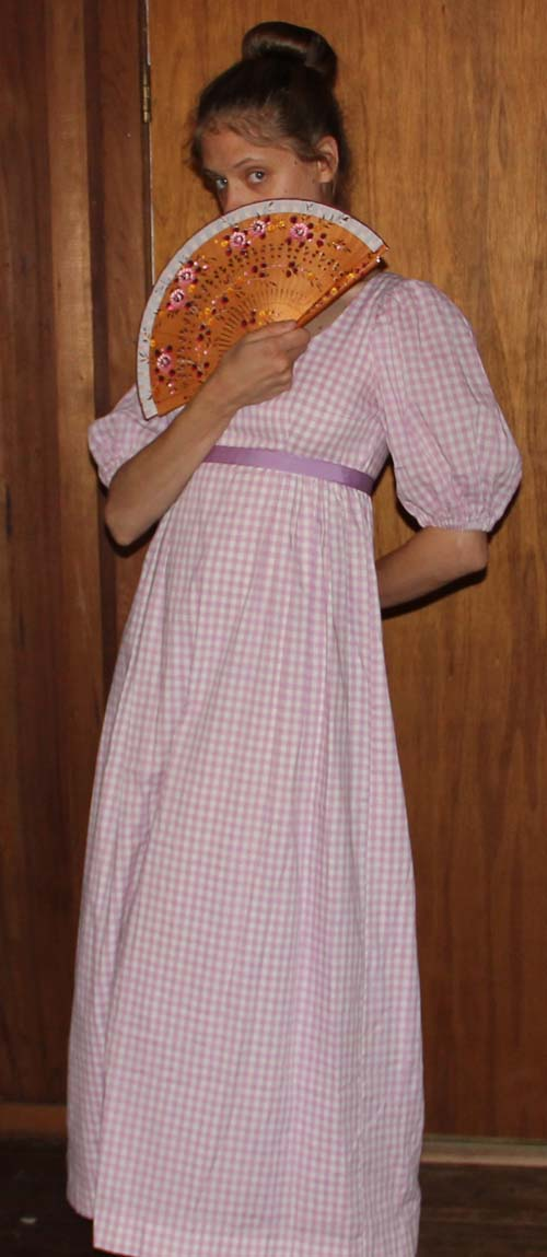 Gingham Gown
