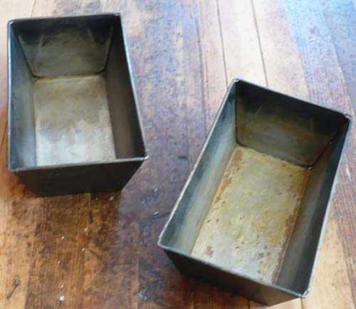 Great-Grandmother's Bread Pans