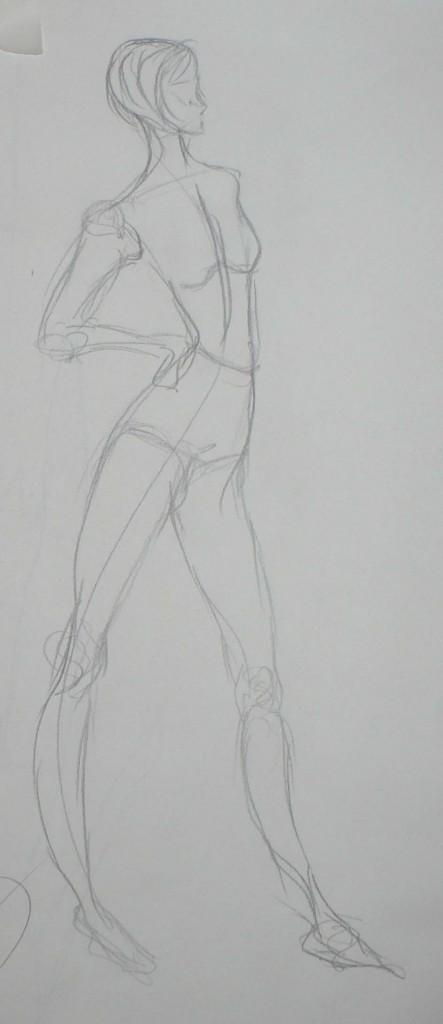 Undressed Fashion Sketch