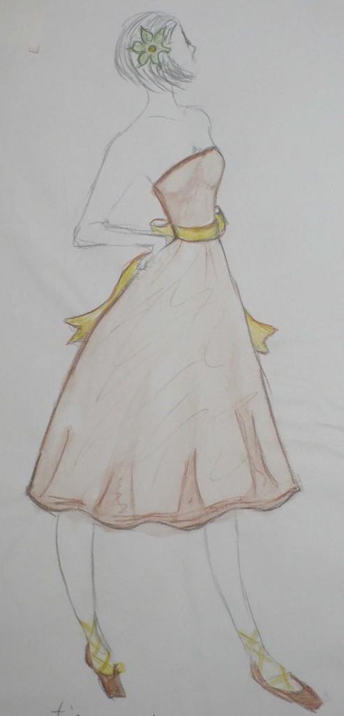 Dressed Fashion Sketch