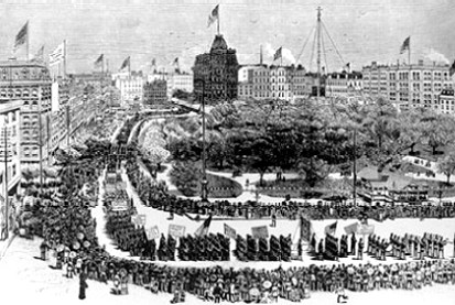 Labor Day in New York City, 1882