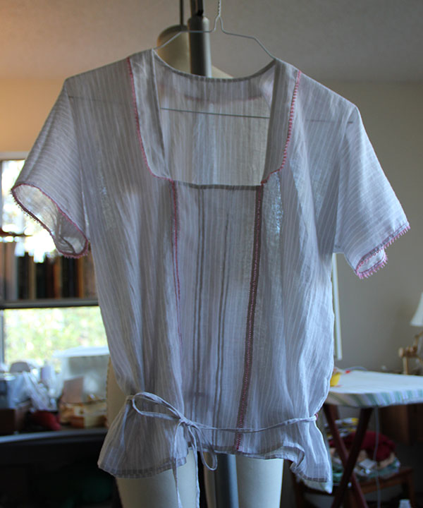Second Armistice Blouse