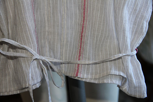 Bottom Detail of Armistice Blouse