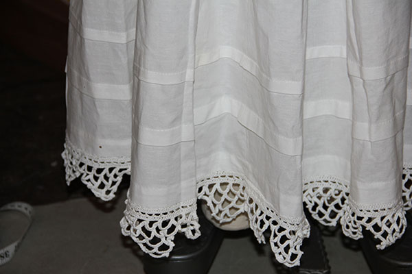 petticoat hem detail