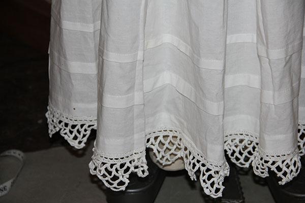 petticoat hem detail