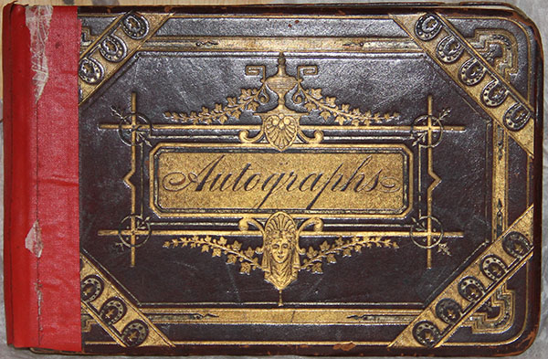 autograph book