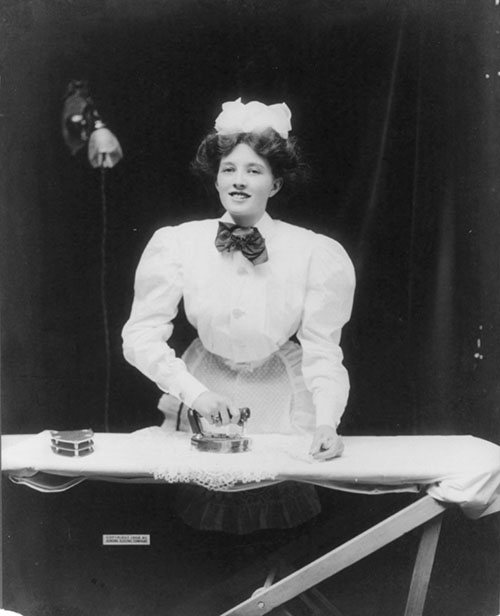 Ironing Advertisement Picture