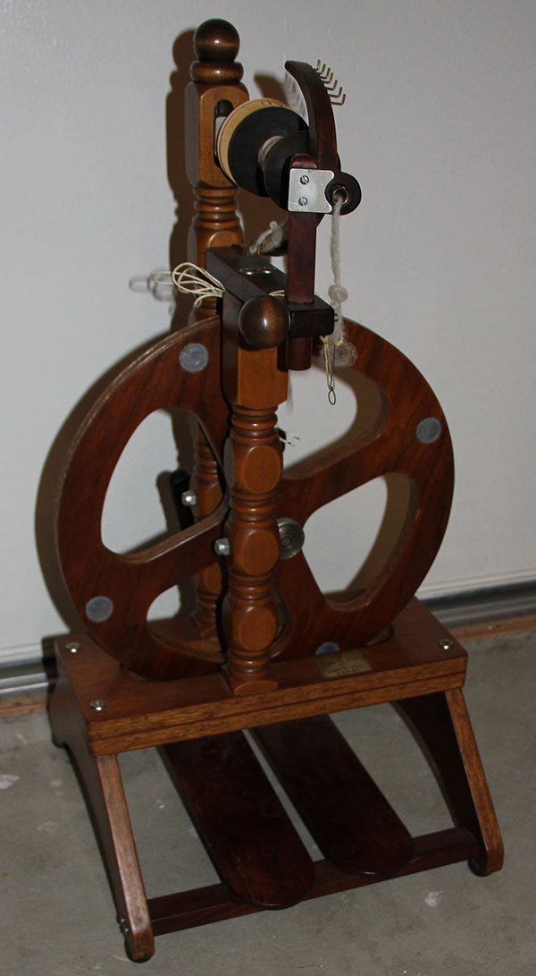 Gram's spinning wheel
