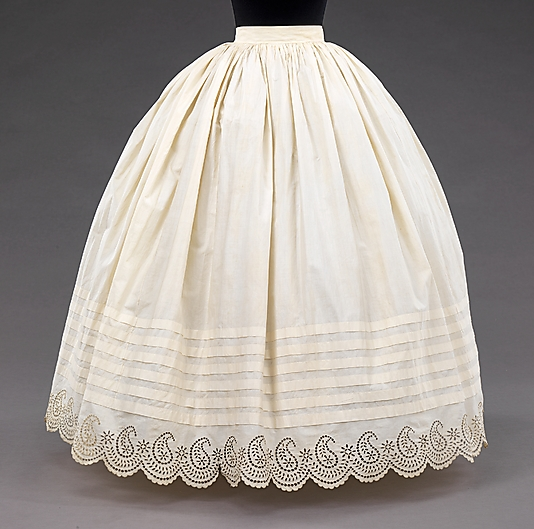 Metropolitan Museum of Art Petticoat
