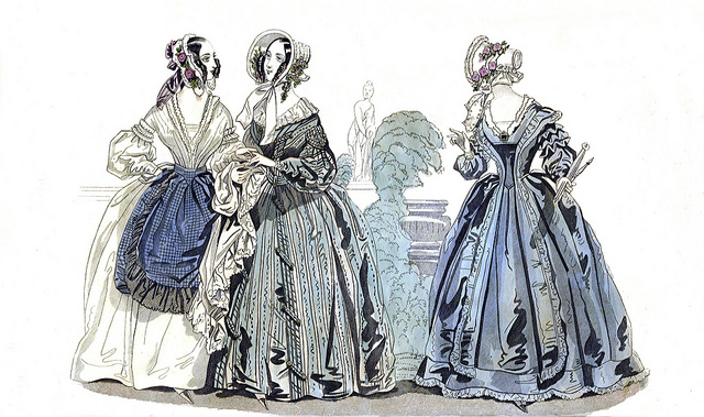Godey's Fashion Plate, October 1840
